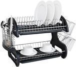 Home Basics 2-Tier Dish Drying Rack