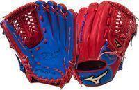 Mizuno Global Elite Royal/Red 11.75 Baseball Glove RHT