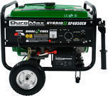 DuroMax Hybrid Propane/Gas Powered Electric Start Generator