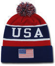 Team USA American Flag Beanie