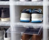 Men's Drop-Front Shoe Box
