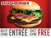 Smashburger - Buy One Entree, Get One Free