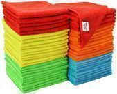 S&T Microfiber Cleaning Cloths 50-Pack