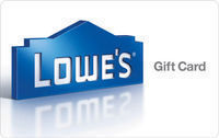 $100 Lowe's Gift Card - 1st Class Mail Delivery