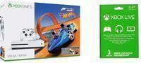 Xbox One S 500GB Forza Hot Wheels Bundle + 3 Month Xbox Live