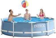 Intex 12ft x 30in Prism Frame Pool Set w/ Filter Pump