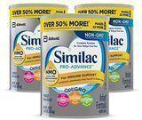 3 Pack 36oz Similac Pro-Advance Infant Formula