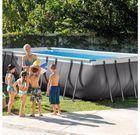 Intex 18' x 9 x 52 Ultra Frame Rectangular Pool Set w/ Pump