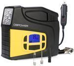 DBPOWER Portable 12V DC Tire Inflator