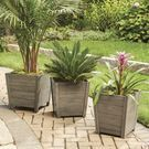 Better Homes and Gardens Cane Bay Outdoor Medium Planter