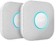 Nest 2pk Protect Smoke and Carbon Monoxide Detectors