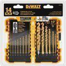 DeWalt 14-Piece Titanium Drill Bit Set -DW1354