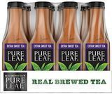 Pure Leaf Extra Sweet Iced Tea 18.5-Oz. 12-Pack