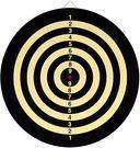 Hey Play TG Champion Tournament Bristle Dartboard
