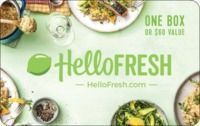 $60 Hello Fresh Gift Card For $50