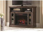 Tolleson 48 TV Stand/Infrared Fireplace (Simply Brown)