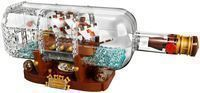 LEGO Ideas Ship in a Bottle Building Set + $10 Gift Card