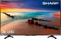 Sharp 50 LED 4K HDTV w/ Built-in Roku
