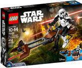 Lego Star Wars Scout TM Trooper and Speeder Bike