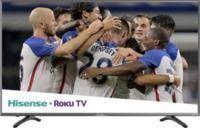 Hisense 55 LED 2160p Smart 4K UHD TV with HDR + Roku